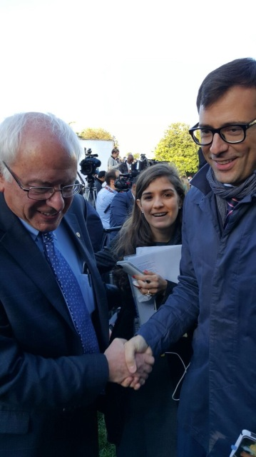 Bernie Sanders, White House, EEUU (2016)