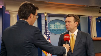 Josh Earnest, White House, EEUU (2016)