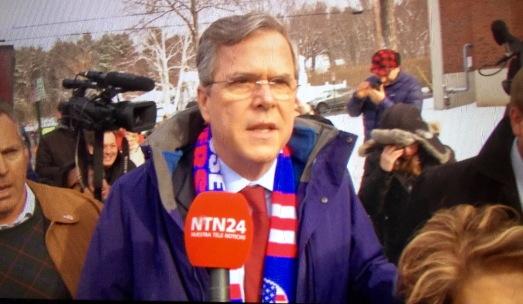 Jeb Bush, Primarias EEUU (2017)